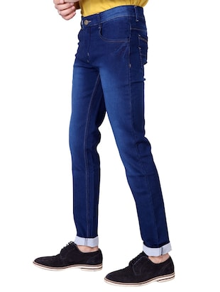 multi colored denim washed jeans - 15863361 - Standard Image - 3