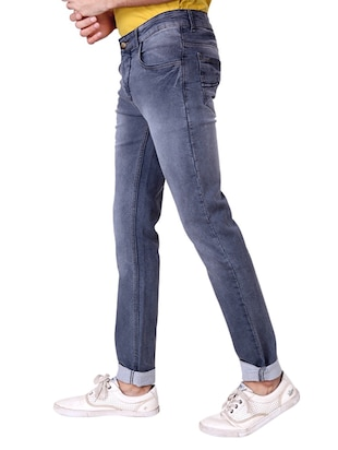 multi colored denim washed jeans - 15863361 - Standard Image - 6