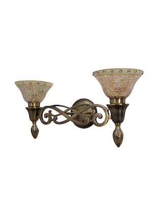 Sweeping Scroll Double Wall Sconce Lamp - 15882742 - Standard Image - 3