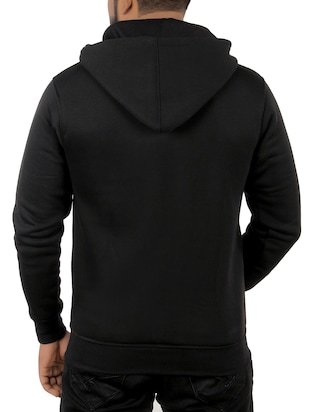 black fleece sweatshirt - 15908335 - Standard Image - 3
