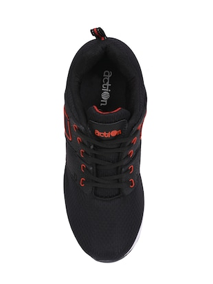 black Mesh sport shoes - 15960772 - Standard Image - 3