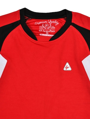 red cotton tshirt - 15964686 - Standard Image - 3