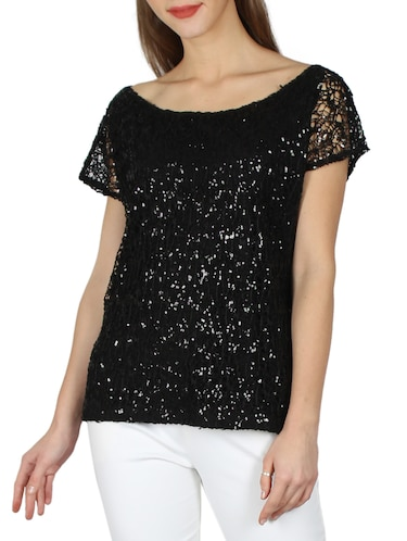 e5d984a43 Lace Tops - Buy Black Lace Top Online in India