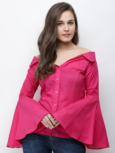 6a159d4326 Shirts For Women - Upto 70% Off   Buy Denim, Formal & Casual Shirts ...