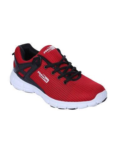 red mesh sport shoes - 16097486 - Standard Image - 1