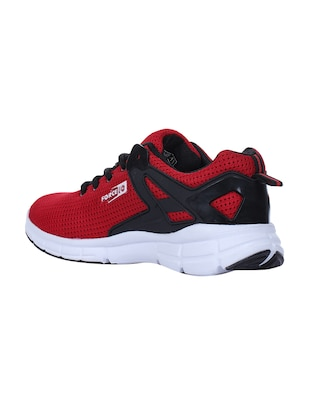 red mesh sport shoes - 16097486 - Standard Image - 3