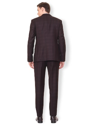 brown terry rayon suit - 16107548 - Standard Image - 3