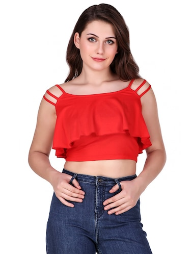 fd29daf66fe07 Crop Tops for Girls - Buy Designer Crop Top Online