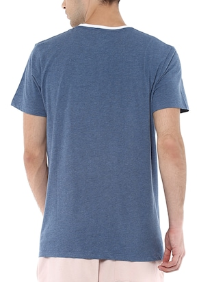 blue polyester character t-shirt - 16179989 - Standard Image - 3