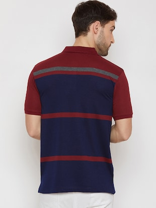 navy blue polo t-shirt - 16186198 - Standard Image - 3