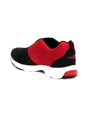 red mesh sport shoes - 16191317 - Standard Image - 3