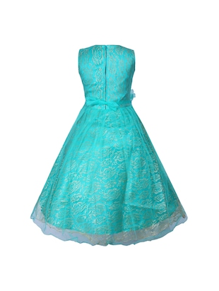 light blue net party gown - 16203367 - Standard Image - 3