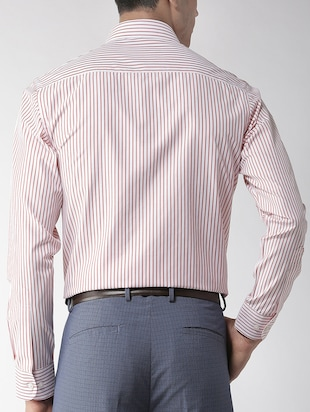 red striped formal shirt - 16238121 - Standard Image - 3