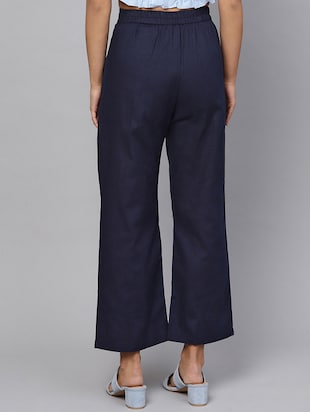 pleat detail high rise trouser - 16245519 - Standard Image - 3