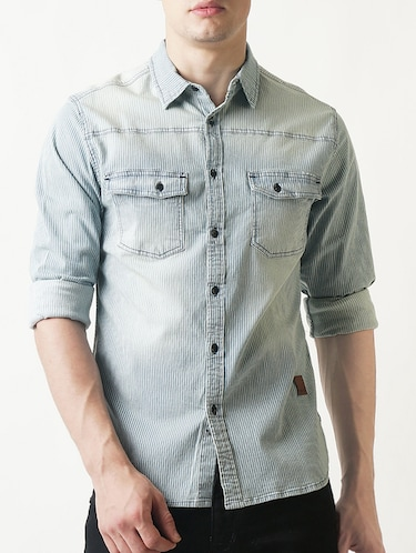 f69370104c8 Casual Shirts - Buy Linen   Denim Casual Shirts for Men at Limeroad
