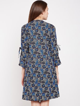 Paisley prints a line dress - 16269711 - Standard Image - 3