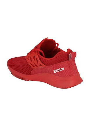 red mesh sport shoes - 16275786 - Standard Image - 3