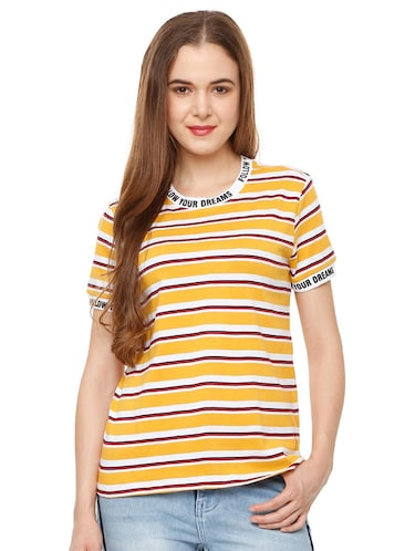 1ce5e93c2fd T Shirts for Women - Upto 70% Off