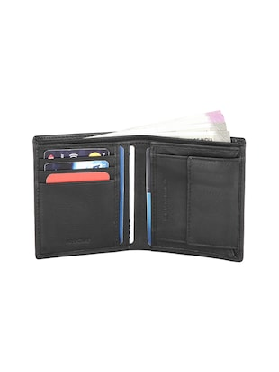 black leather wallet - 16293638 - Standard Image - 3