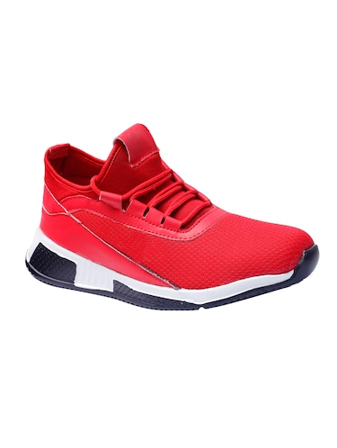 red mesh sport shoes - 16295161 - Standard Image - 1