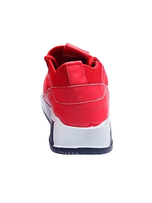 red mesh sport shoes - 16295161 - Standard Image - 3