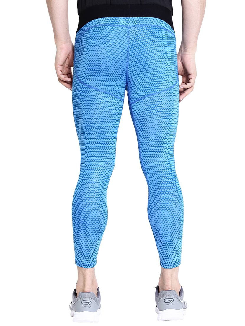 a64241bb3f87c ... blue polyester ankle length track pant - 16319247 - Zoom Image - 3