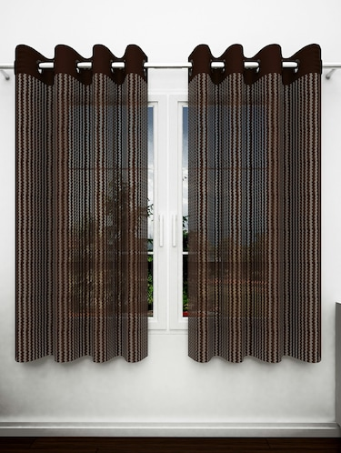 Buy Sheer Curtains For Window 5 Feet In India At Limeroad