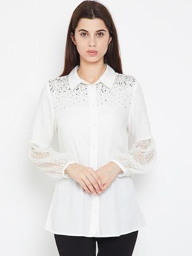 f3fa3070 Shirts For Women - Upto 70% Off   Buy Denim, Formal & Casual Shirts ...