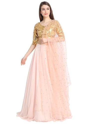 041d112b39 Buy Layered Lehenga Choli For Women Stiched In India @ Limeroad