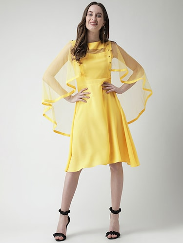 592b7aeb Buy Yellow Dress For Women Party Wear In India @ Limeroad