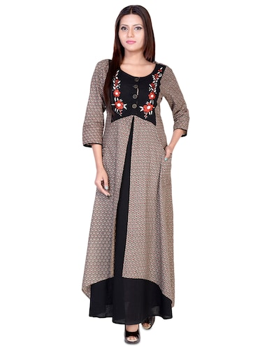 ecf081c7b Buy long party wear gown for girls 13 14 years in India @ Limeroad