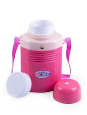 Pink BPA Free Food Grade Plastic  Sipper Water Bottle - By
