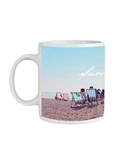 Multi Ceramic  Sunshine Coffee Mug - By
