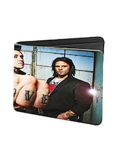 Black Leather Love Leather Wallet - By