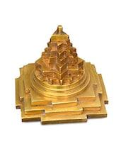 Gold Brass Shree Yantra - By