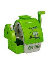 Green Polycarbonate Pencil Sharpener - By