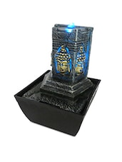 3 Buddha heads Multicolor led fountain -  online shopping for Fountains