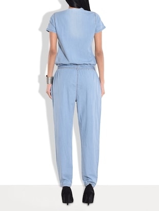 77c28312b433 Buy Light Blue Denim Jumpsuit for Women from The Vanca for ₹873 at 65% off