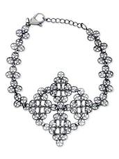Grey Stainless Steel Fashion Jewellery Bracelet - By