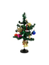 Set Of 1 Christmas Tree And 1 Pack Of Decorative Items - By