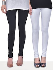Pack of 2 woolen lycra leggings -  online shopping for Woolen leggings