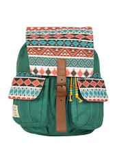 Aztec print backpack -  online shopping for backpacks