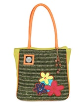 green Canvas bag -  online shopping for Totes