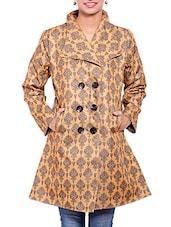 Brown Jute Winter Coat - By