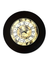 Multicolor Mdf Analogue Wall Clock - By