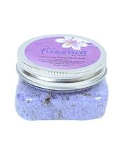 Lavender Plastic Salt And Bubble - By