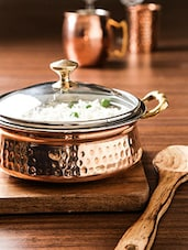 Copper Colour Copper Pan - By