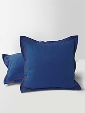 """Hakoba Embroidery Vibrant Color Cushion Cover With Lining Cushion Cover 16"""" (Set Of 5) - By"""